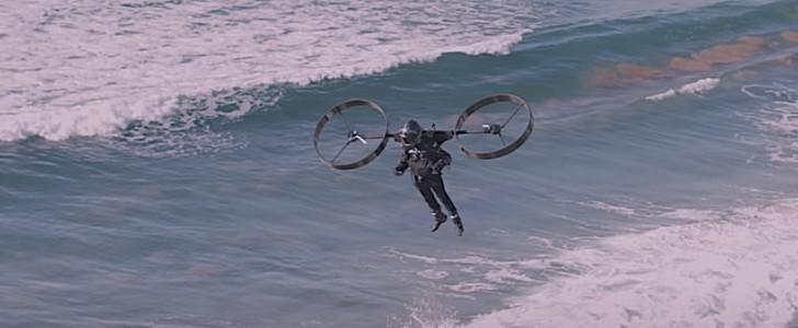 영화 UP을 현실에서! 도라에몽도 탐낼 배낭 헬리콥터 썸네일
